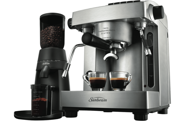 Sunbeam PU6910 Espresso Machine & Grinder