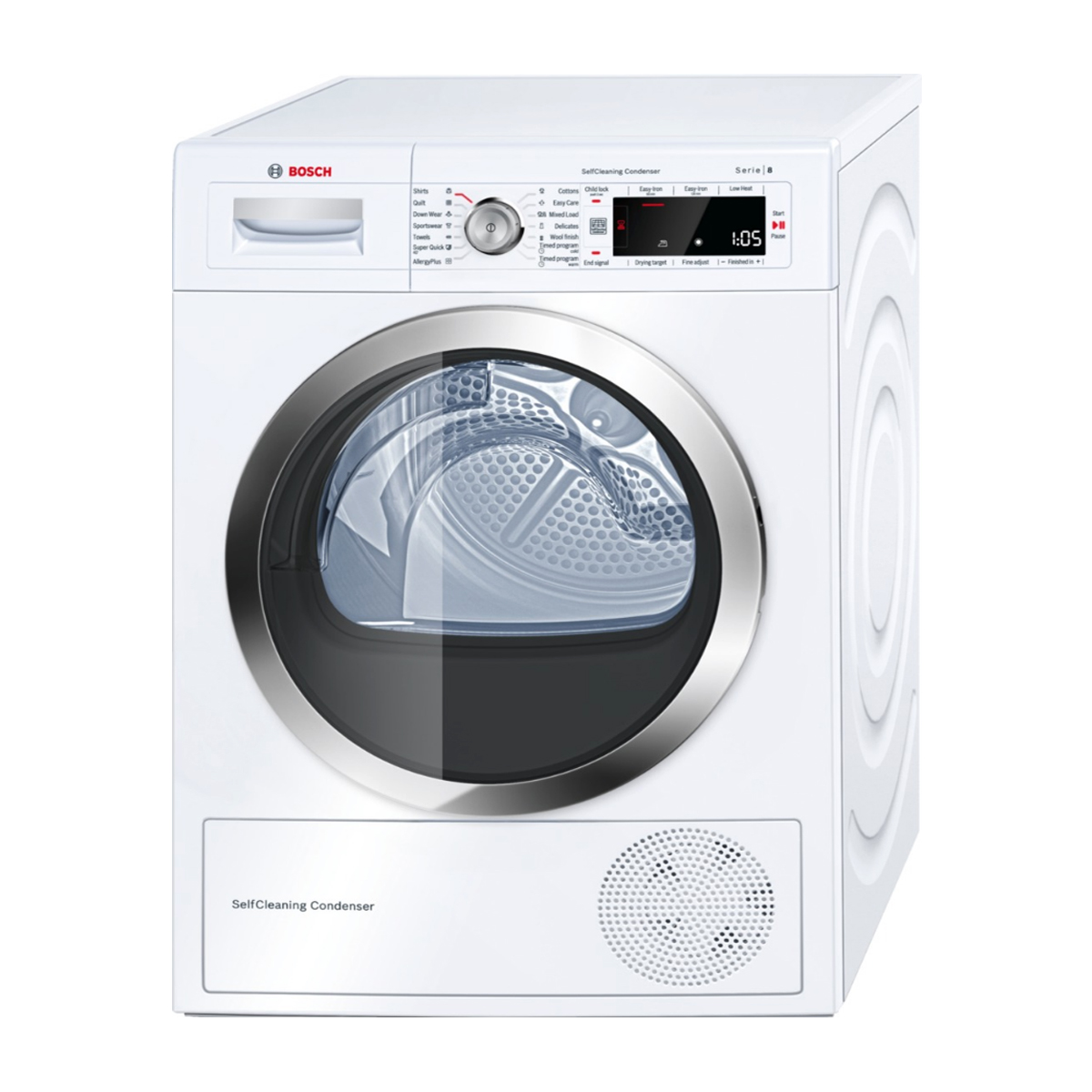 Bosch WTW87565AU Serie 8 9kg Heat Pump Dryer