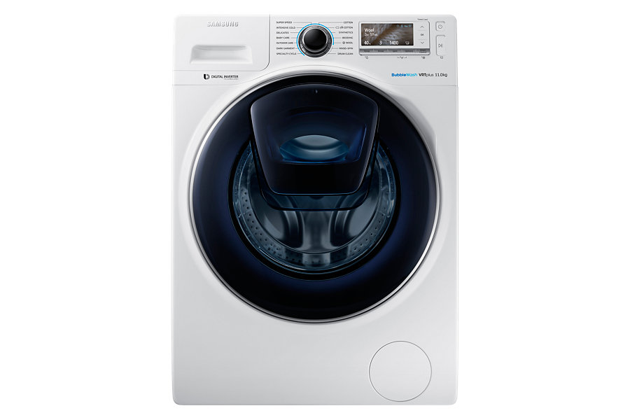Samsung WW11K8412OW AddWash 11kg Front Load Washing Machine