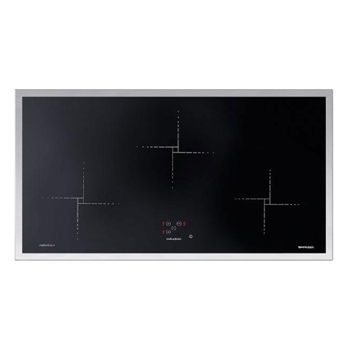 Barazza 1PLB3IDN 90cm Lab Induction Flush and Built-in Hob 28175