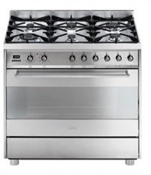 Smeg C9GMX Freestanding Dual Fuel Oven and Stove 19191