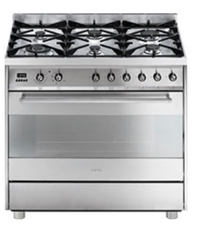 Smeg C9GMX Freestanding Dual Fuel Oven and Stove