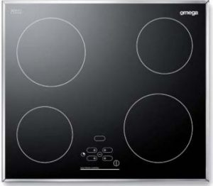 how to turn on omega electric cooktop