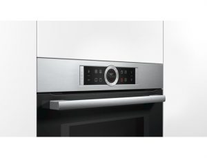 Bosch CMG633BS1B Serie 8 Electric Wall Compact Oven with Microwave 20542