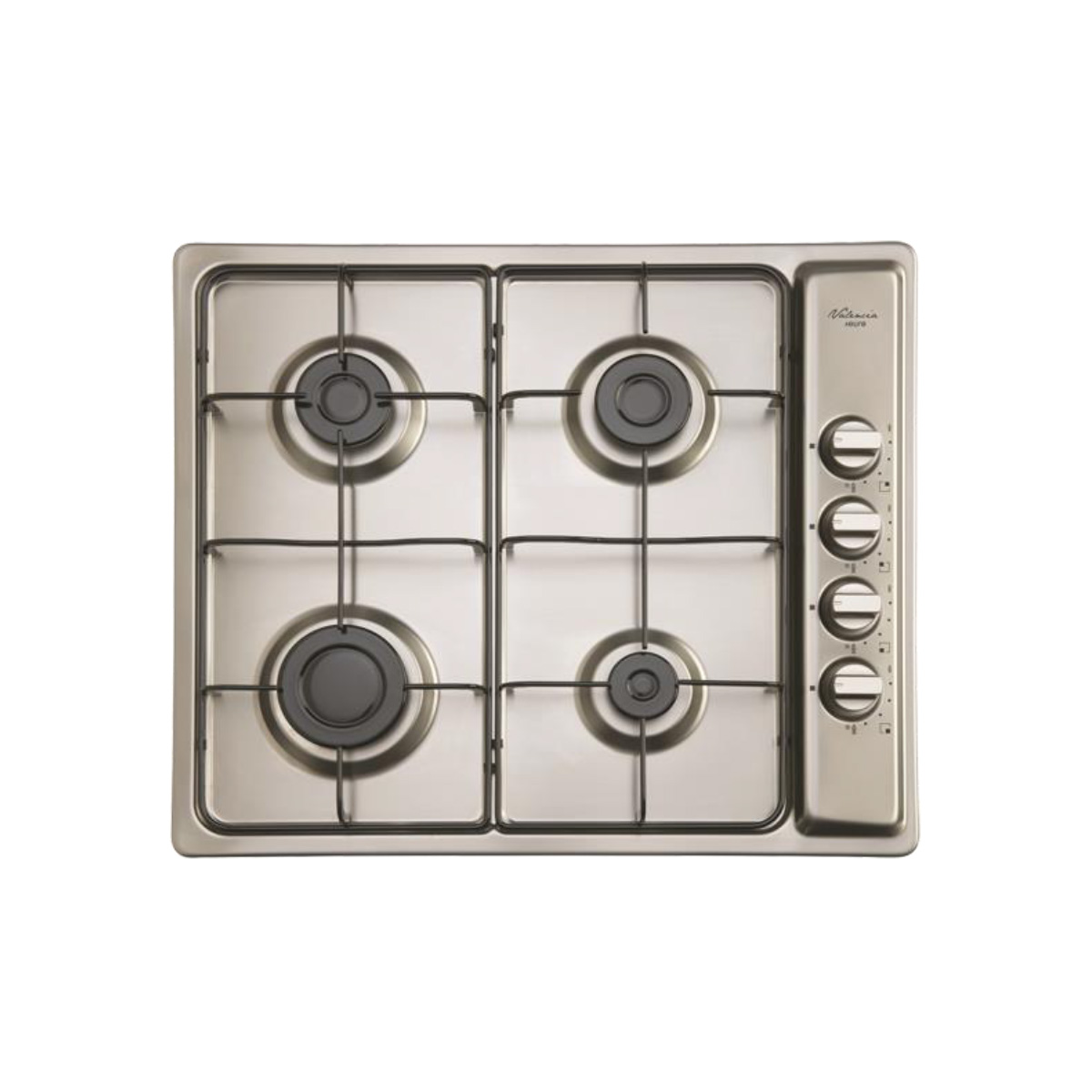 Euro EPZ4GSXV 60cm Stainless Steel Gas Cooktop