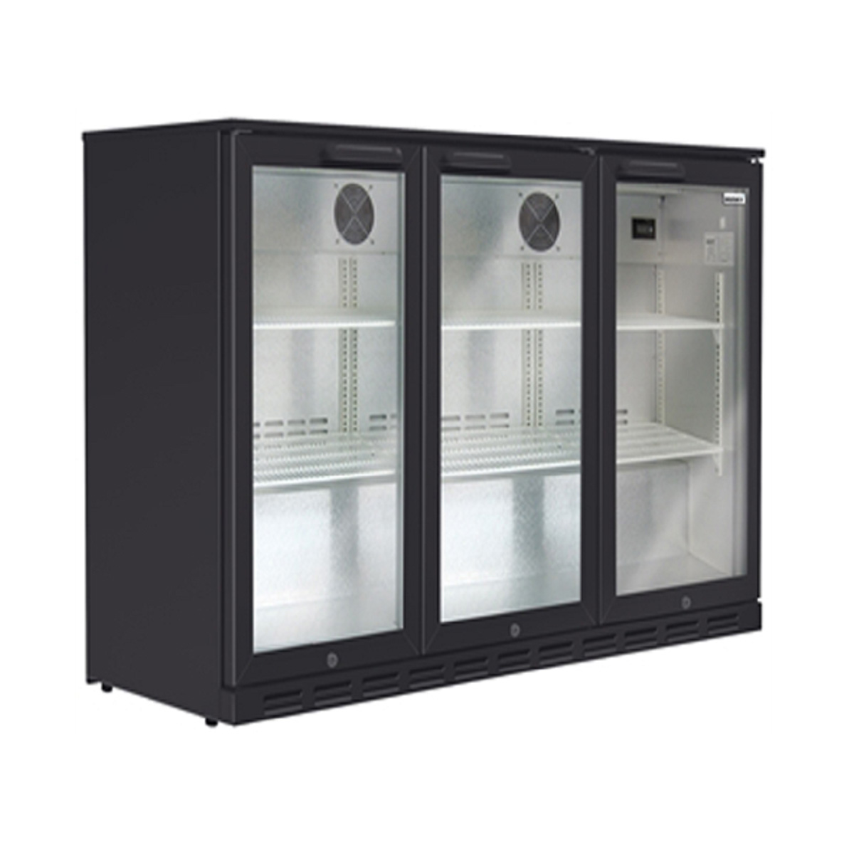 Husky Bar Fridge HUS-C3-840-BLK