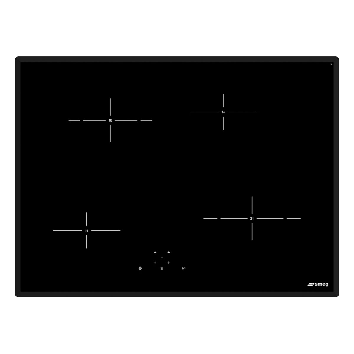 smeg electric cooktop how to turn on