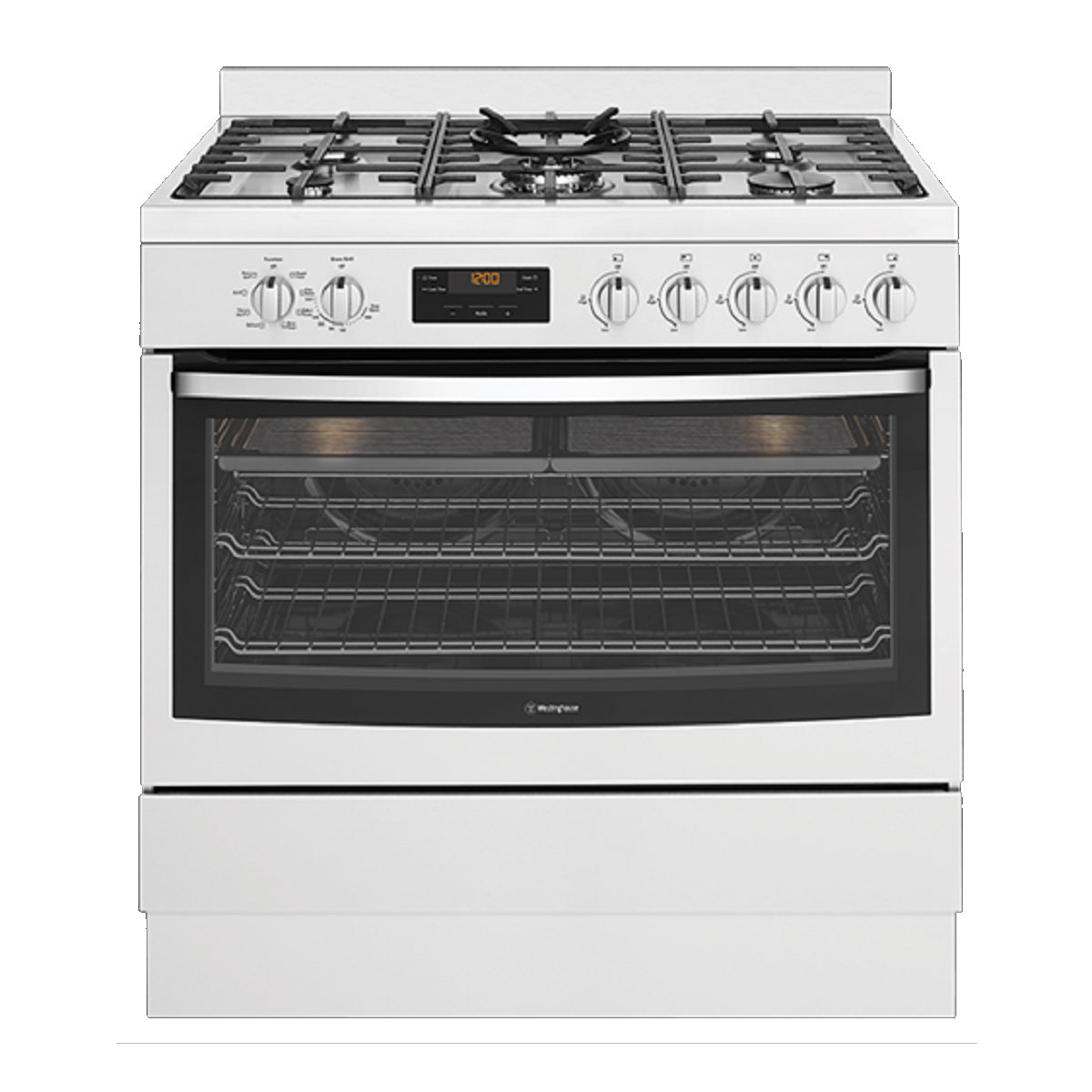Westinghouse WFE914SB Freestanding Dual Fuel Oven/Stove