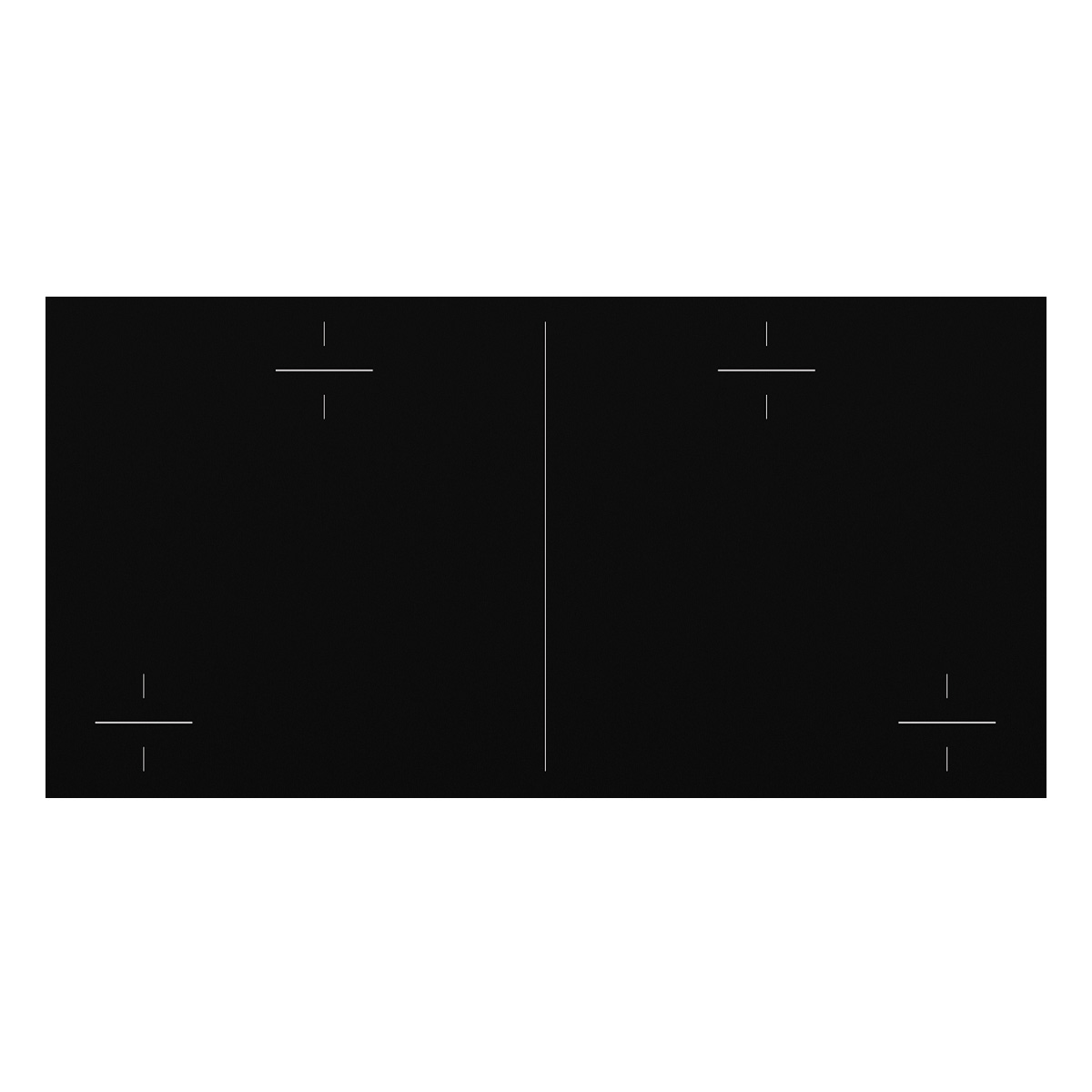 Electrolux EHI845BA 80cm Induction Cooktop 28149