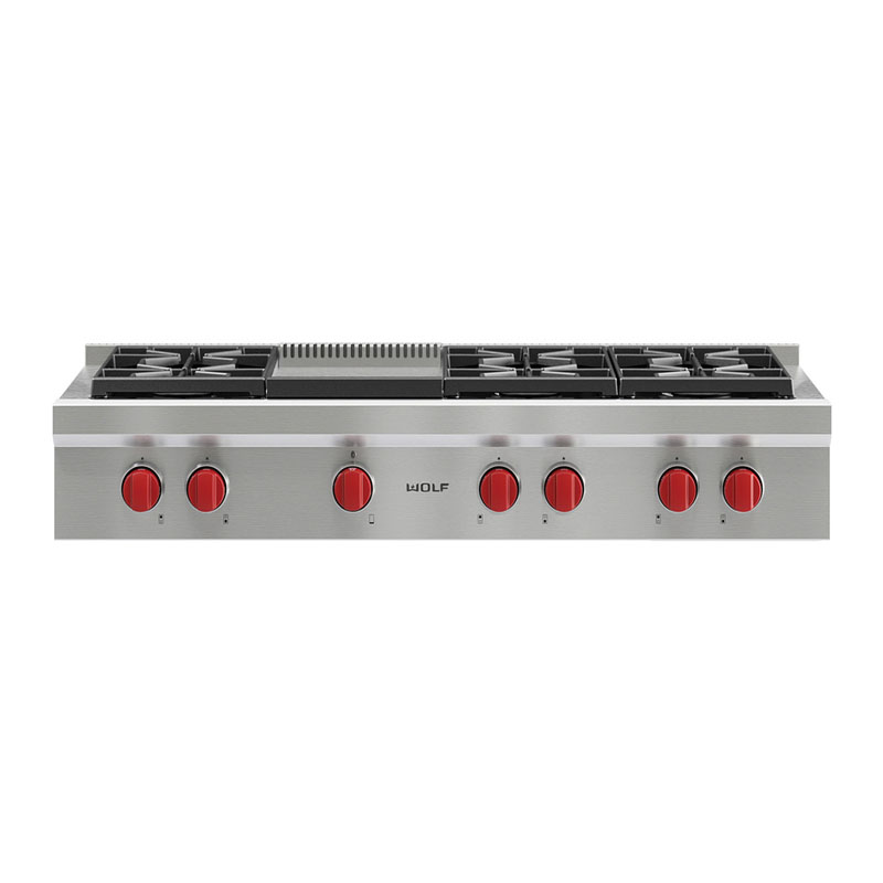 Wolf Gas Cooktop ICBSRT486GNG