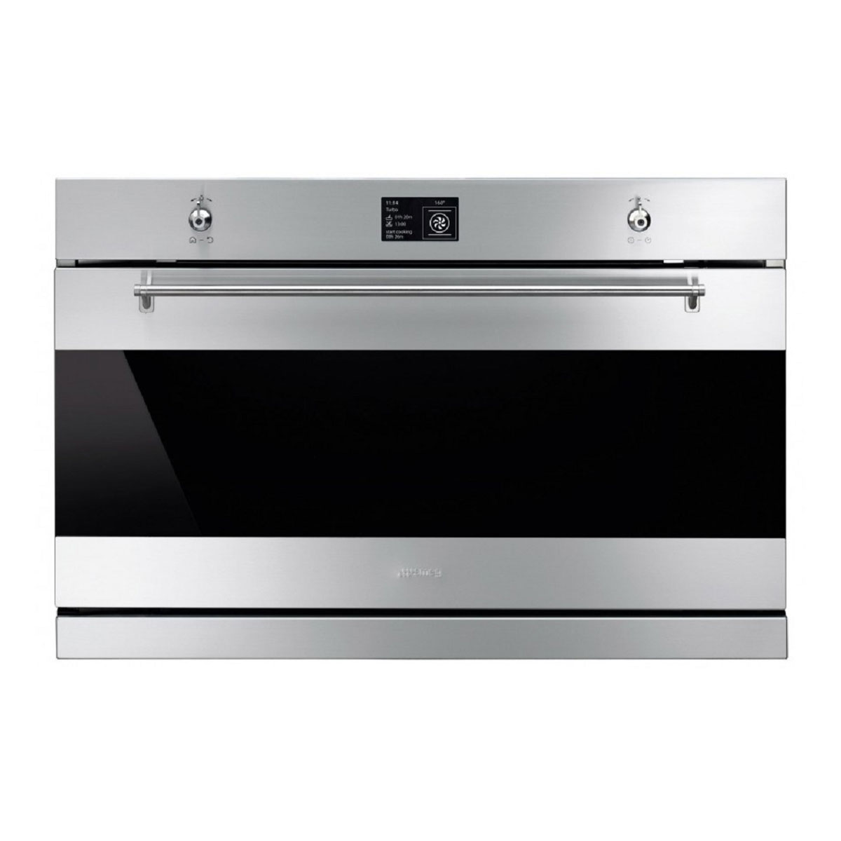 Smeg SFPA9395X 90Litres Pyrolytic Built-In Oven 27726