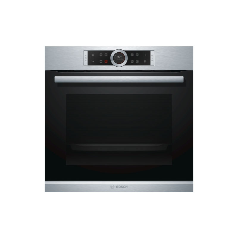 Bosch HBG672BS1A 60cm Serie 8 Electric Built-In Pyrolytic Oven