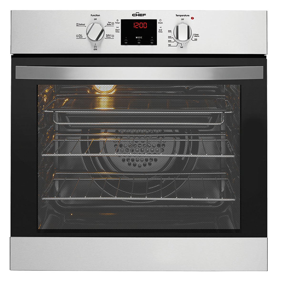 Chef CVE614SA 60cm Electric Built-In Single Oven 31713