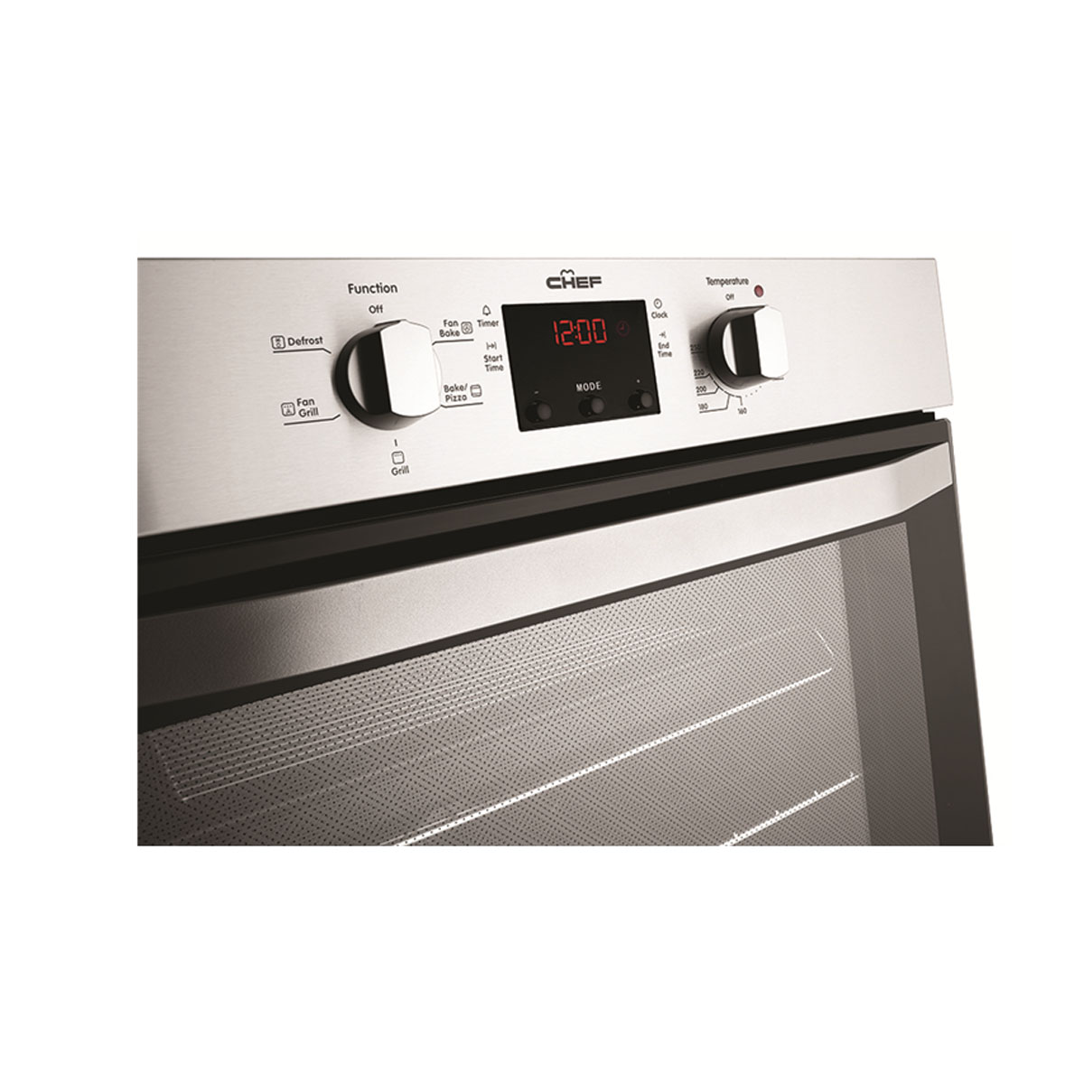 Chef CVE614SA 60cm Electric Built-In Single Oven 31712