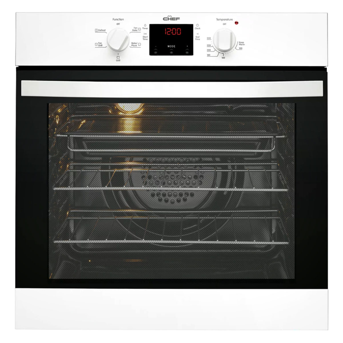 Chef CVE614WA Electric Wall Oven