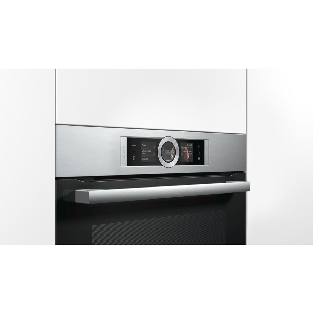 Bosch HRG6767S2A Serie 8 Pyrolytic Electric Wall Oven with Steam 31802
