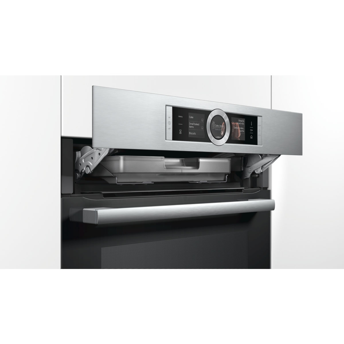 Bosch HRG6767S2A Serie 8 Pyrolytic Electric Wall Oven with Steam 31804