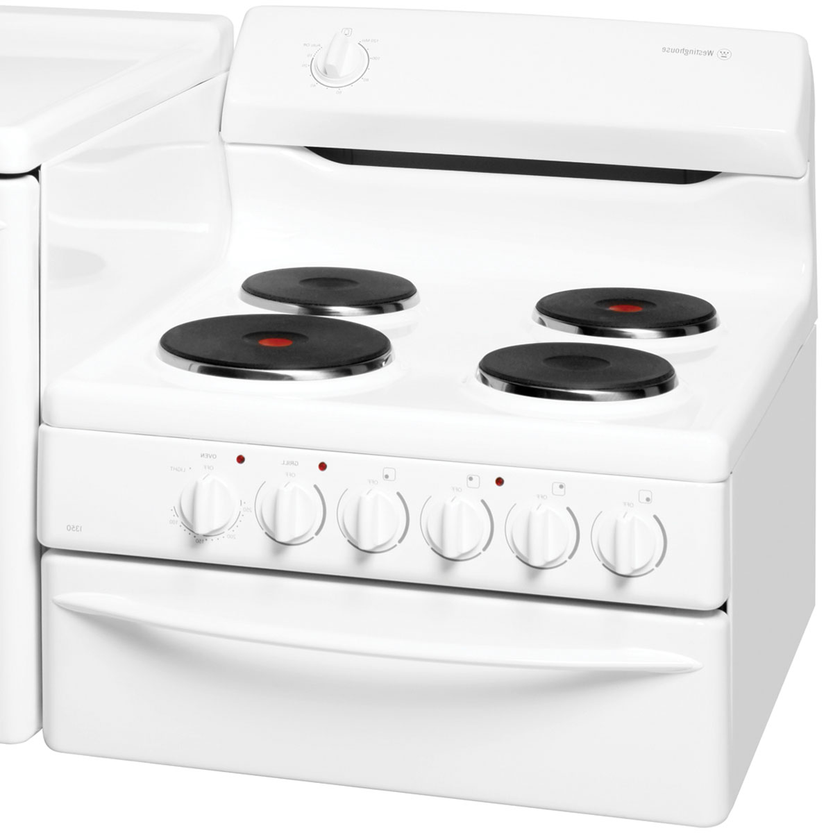Westinghouse Kitchen Appliances Westinghouse Pek1350lw Elevated Electric Oven Home Clearance