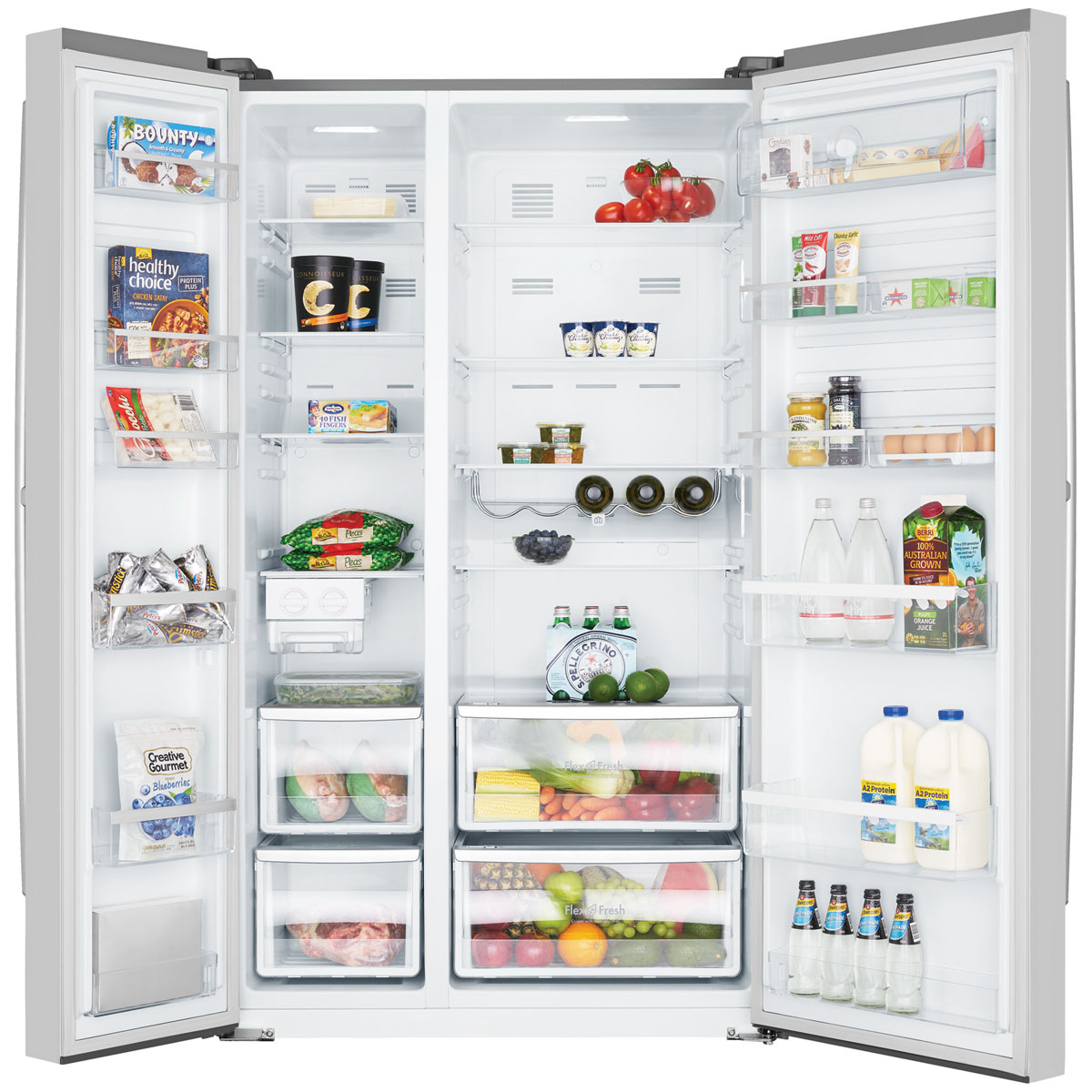 Westinghouse Wse6900sa 690litres Side By Side Fridge Up To 60 Off