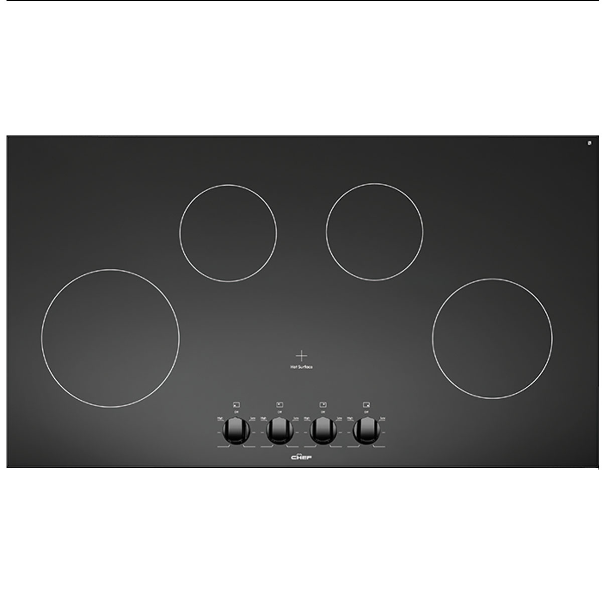 Chef Electric Cooktop CHC944BA