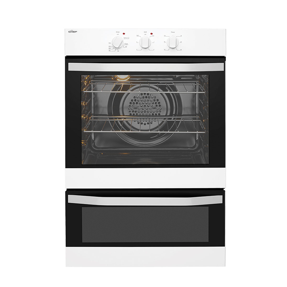 Chef CVE662WA Electric Wall Oven