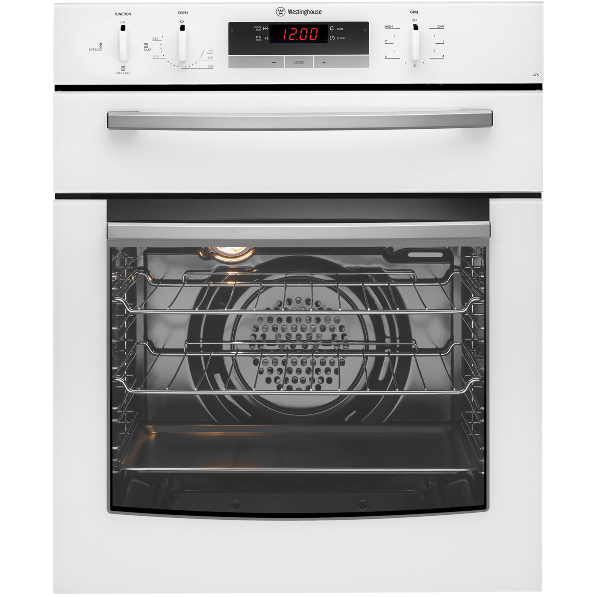 Westinghouse GGR475WLPG Gas Wall Oven