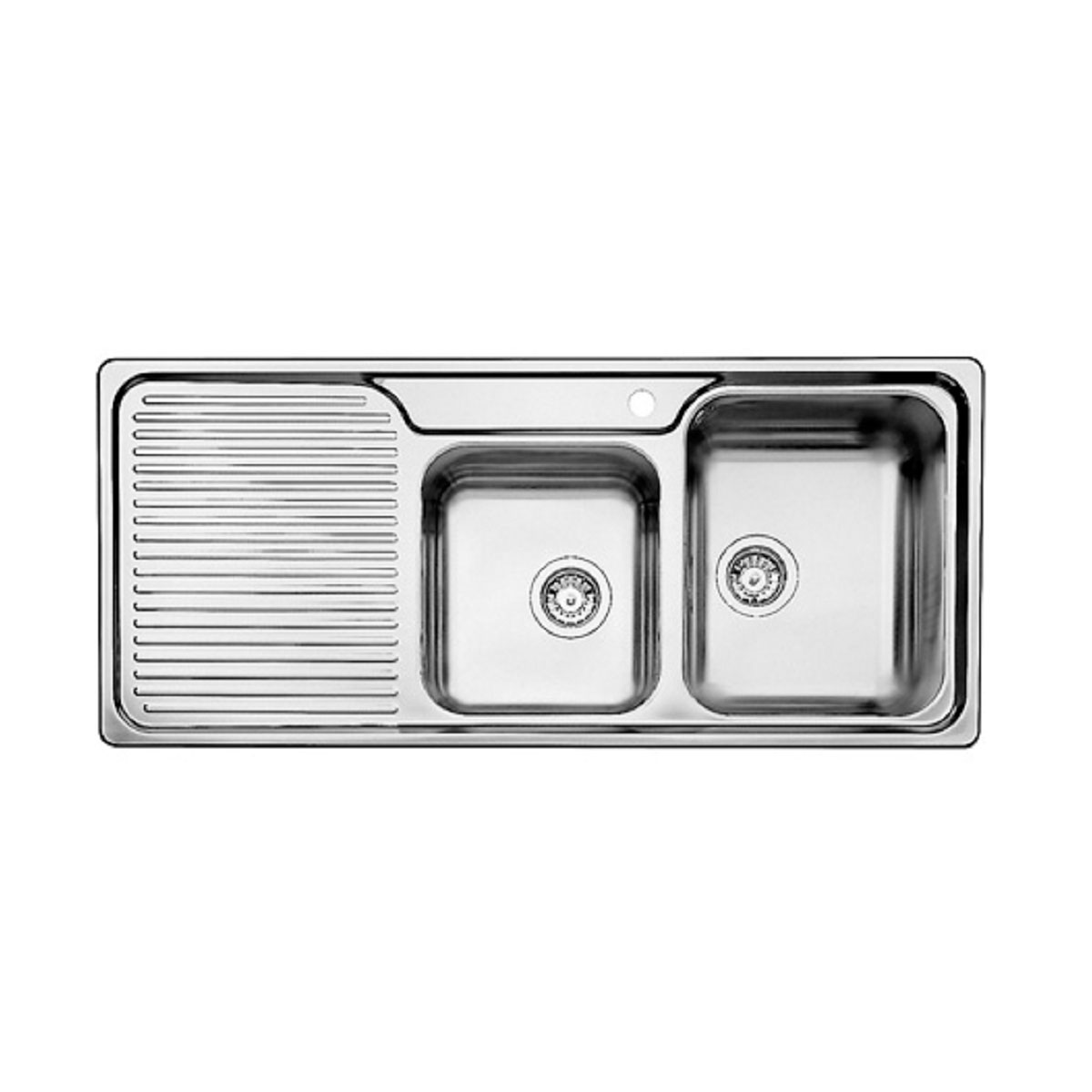 Blanco MCLZL-B5899 1 and 3/4 Bowl Right Hand Drainer Sink