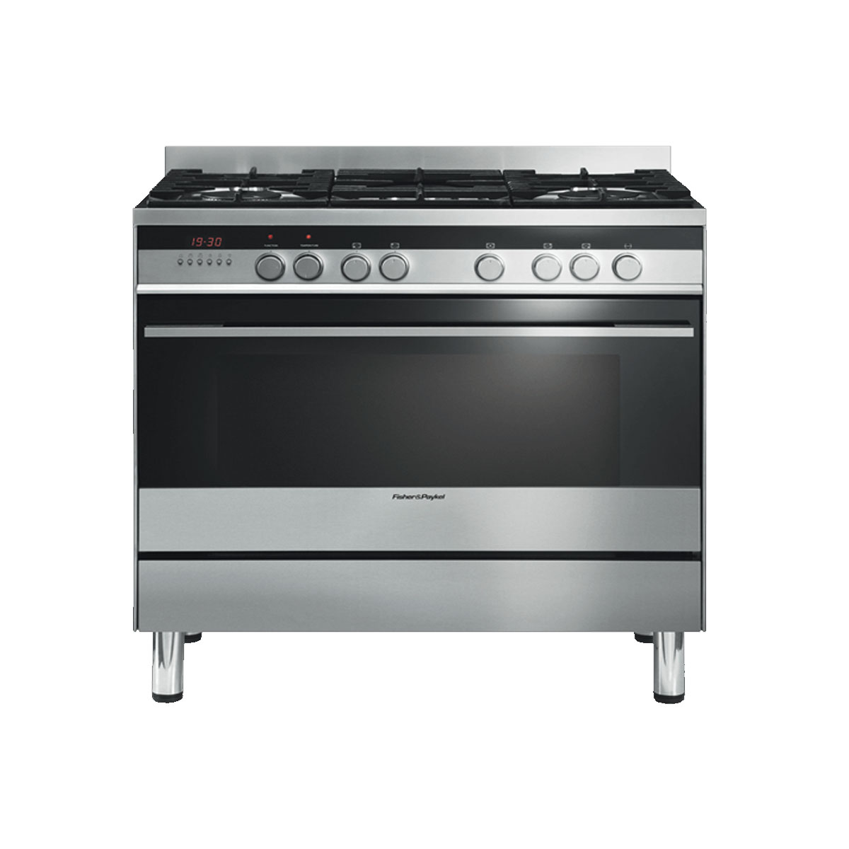 Fisher & Paykel OR90SDBGFX2 90cm Freestanding Dual Fuel Oven/Stove 35667