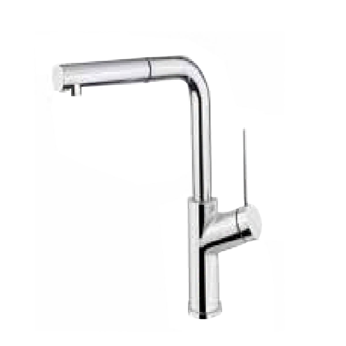Armando Vicario VIVA-D3BC Kitchen Mixer Tap with Pull-out