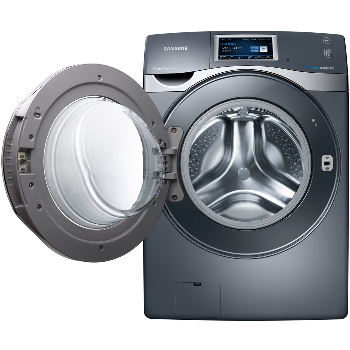Samsung Wd10f8k9abg 16kg Washer Dryer Combo With Wifi
