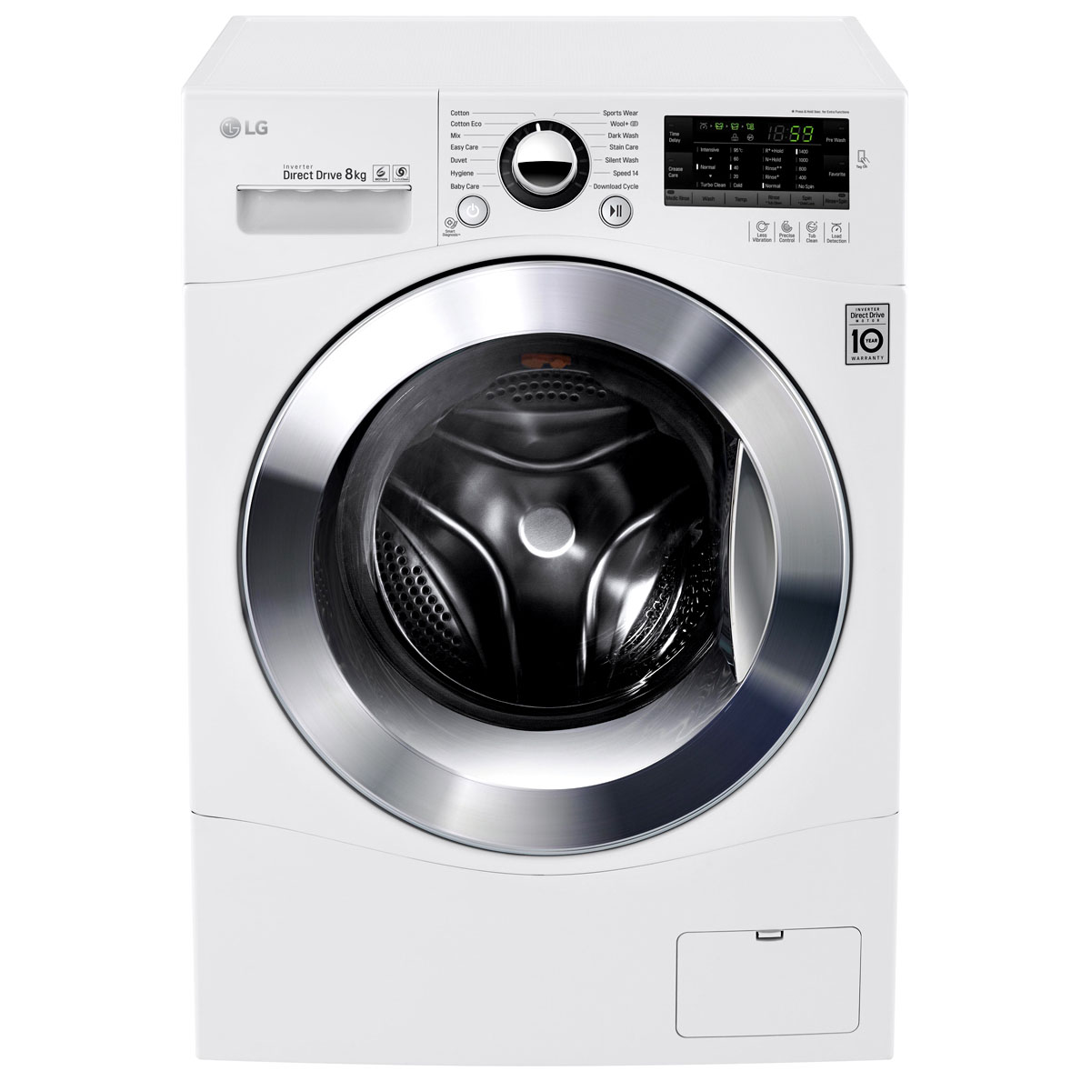 Lg Washer And Dryer Manufacturer Warranty ~ Lg wd npw kg front load washing machine home clearance
