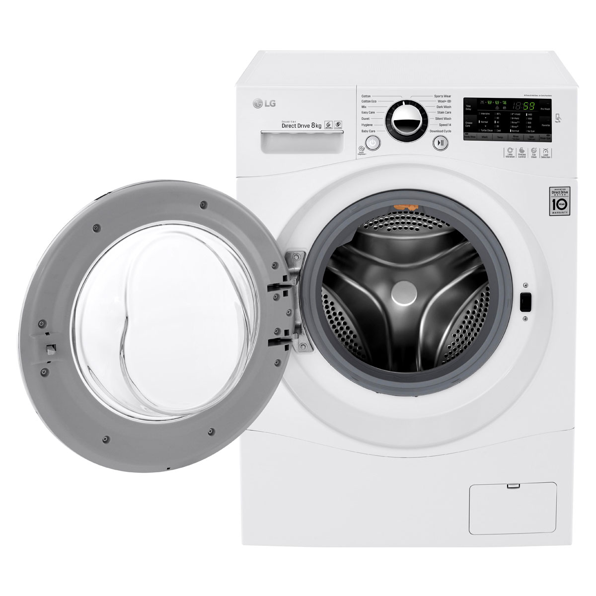 how to clean lg front load washing machine
