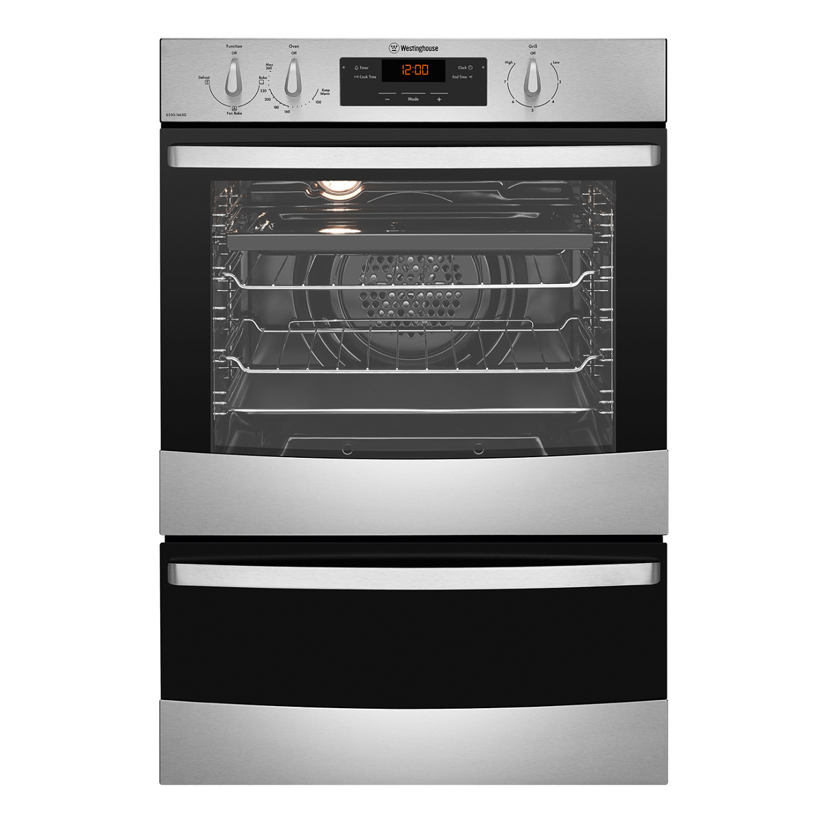 Westinghouse WVG665SLPG Gas Wall Oven