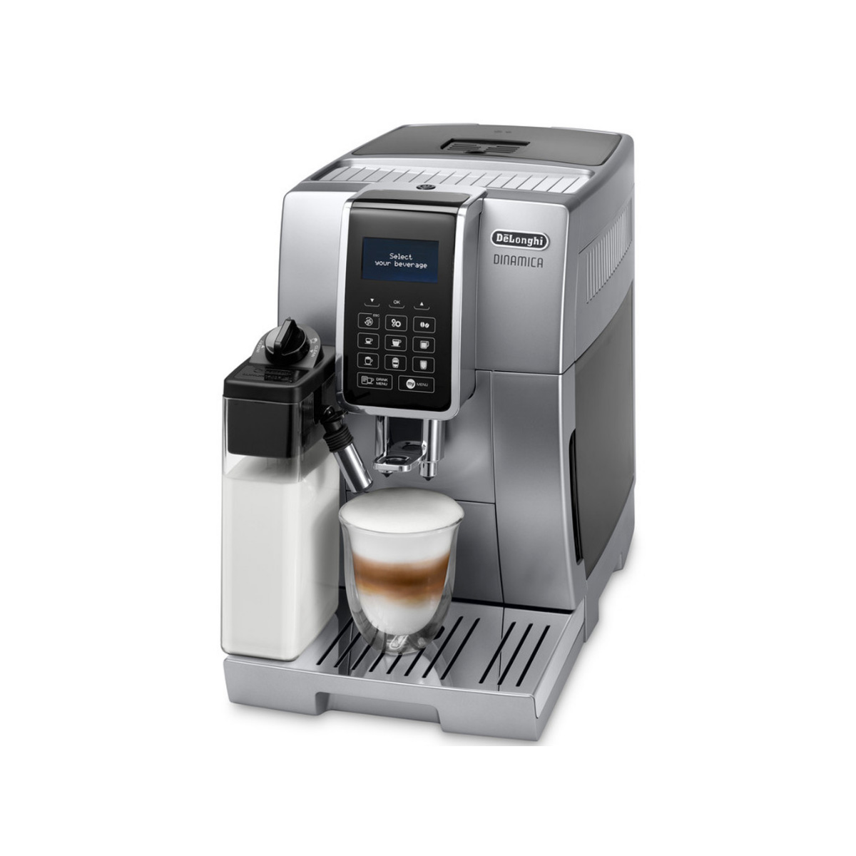 how to use delonghi dinamixa coffee machine