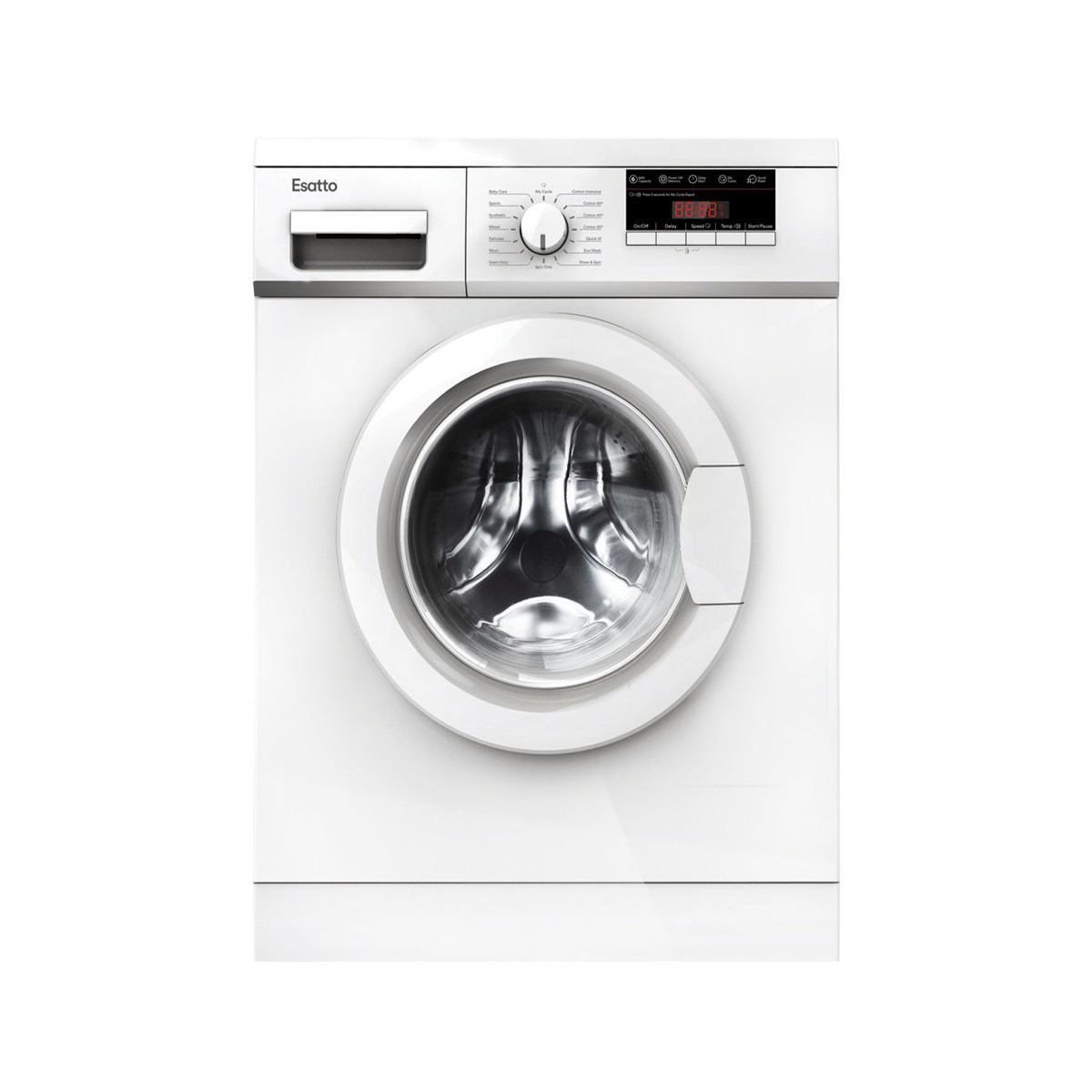 Esatto EFLW6 6 kg Front Load Washing Machine