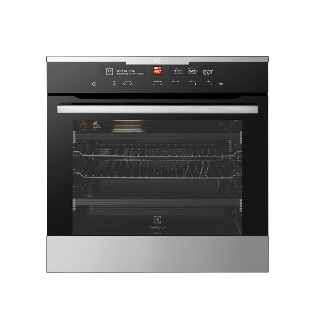 Electrolux EVEP616SC Pyrolytic Electric Wall Oven 39784