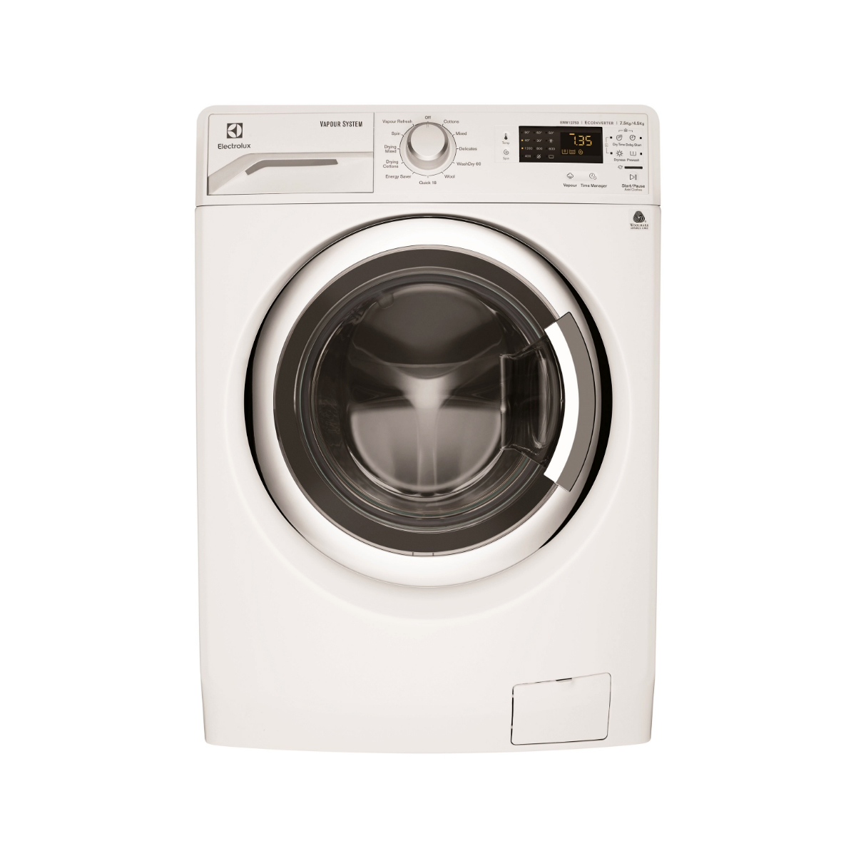 Electrolux EWW12753 7.5kg Washer 4.5kg Dryer Combo
