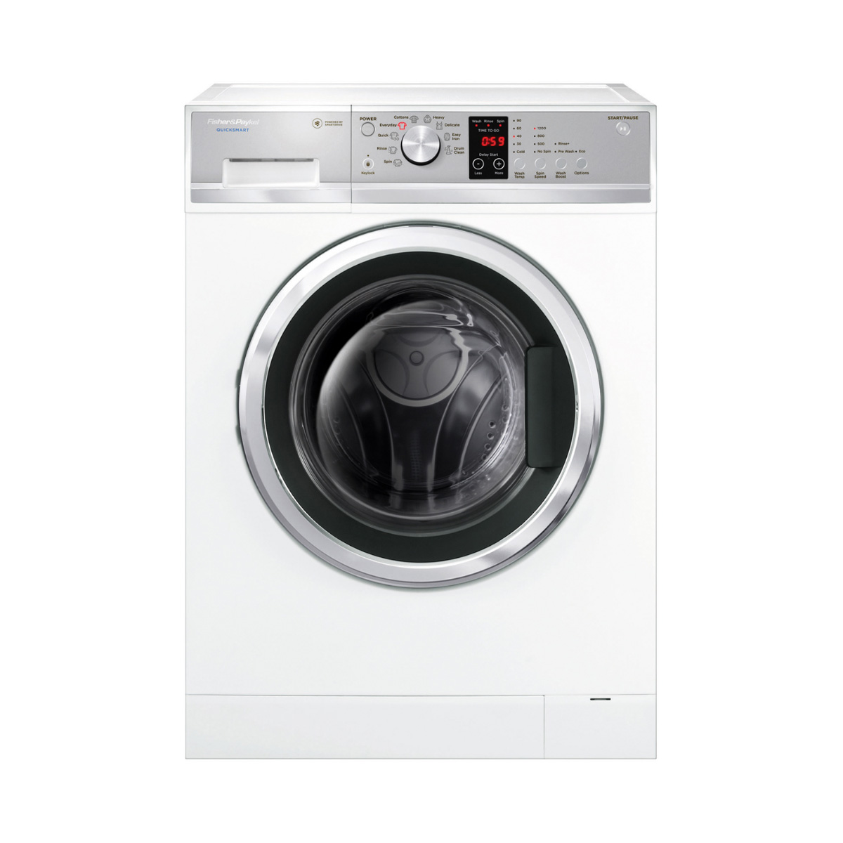 Fisher & Paykel WH7560J3 QuickSmart 7.5 kg Front Load Washing Machine