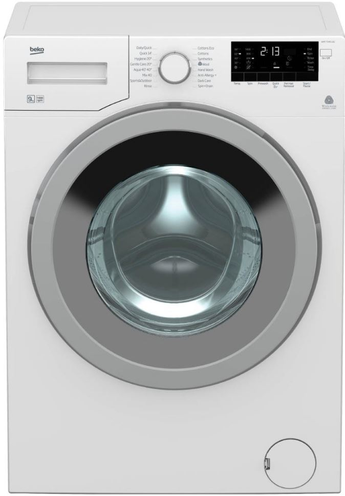 Beko WMY9046LB2 9kg Front Load Washing Machine 41664