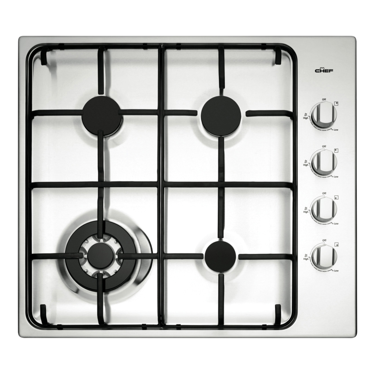 Chef 60cm Gas Cooktop CHG646SA
