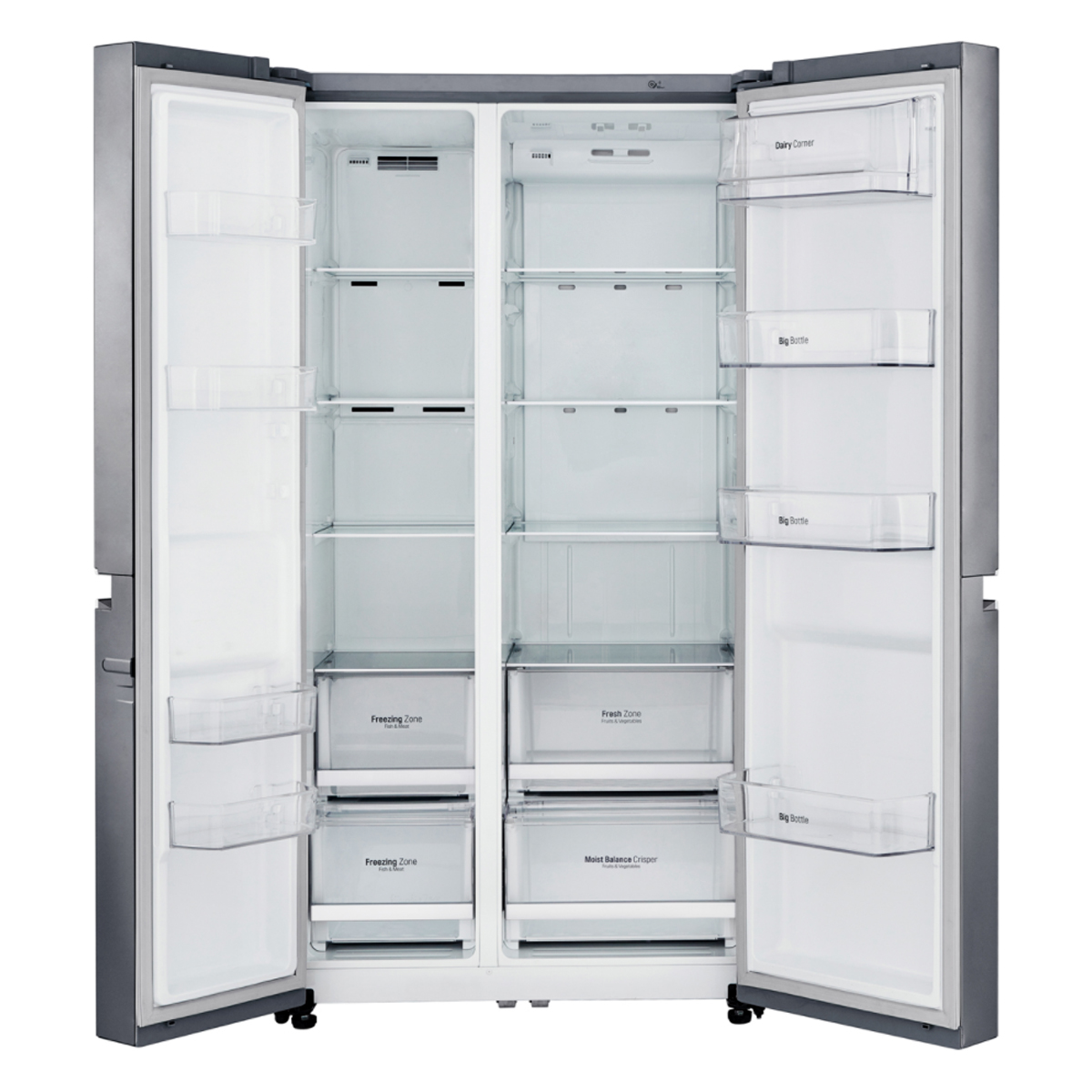LG GS-B680PL 687Litres Side by Side Fridge 43377