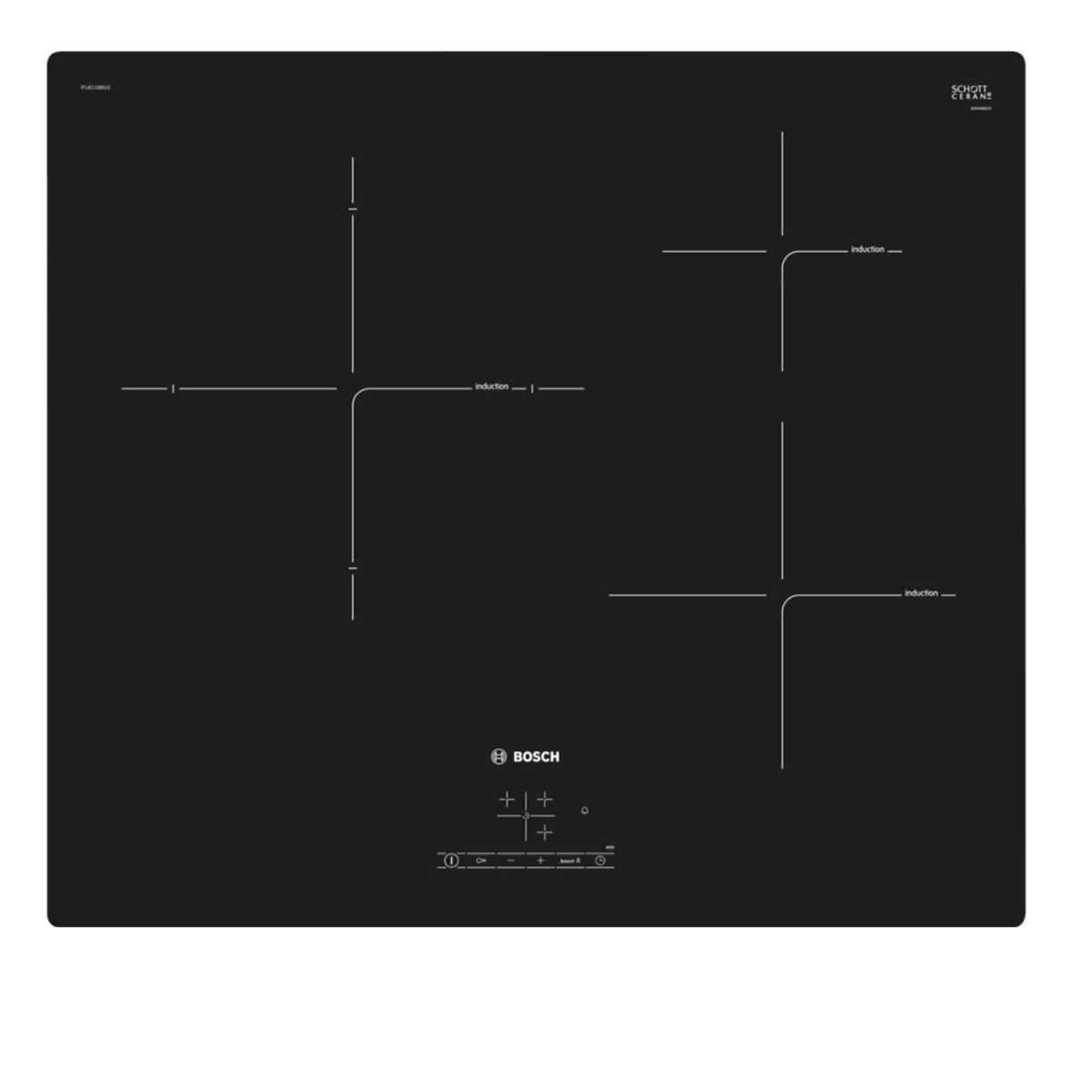 Bosch PIJ611BB1E 60cm Induction Cooktop