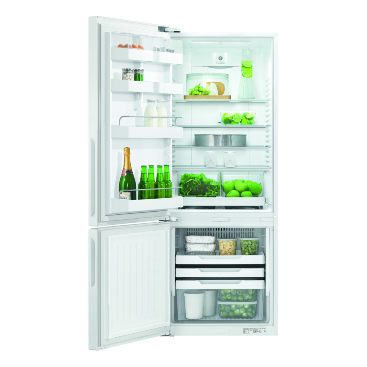 Fisher & Paykel RF402BLYW6 403Litres Bottom Mount Fridge 43847