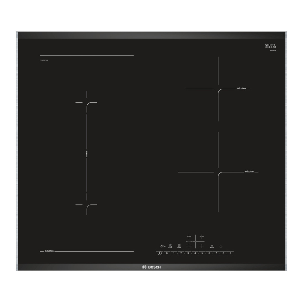 Bosch PVS675FB1E 60cm Serie 6 Induction Cooktop