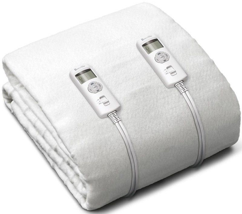 Breville BZB427WHT Double Antibacterial Fitted Heated Blanket