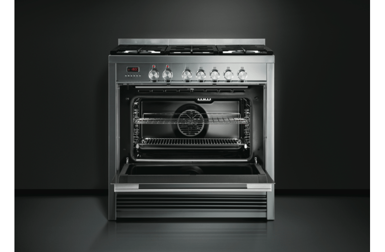 Fisher & Paykel OR90SDBGFPX1 Pyrolytic Freestanding Dual Fuel Oven/Stove 56109