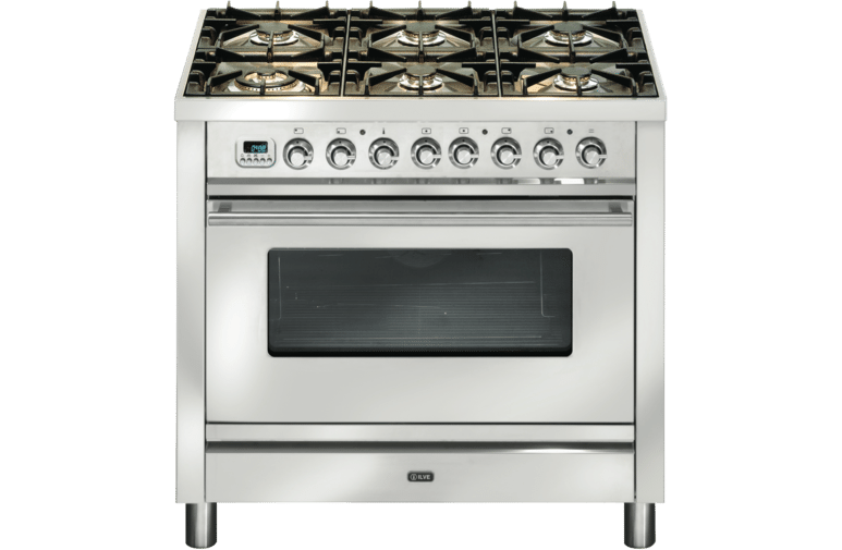 Ilve 90cm Dual Fuel Upright Cooker PW906MP/I