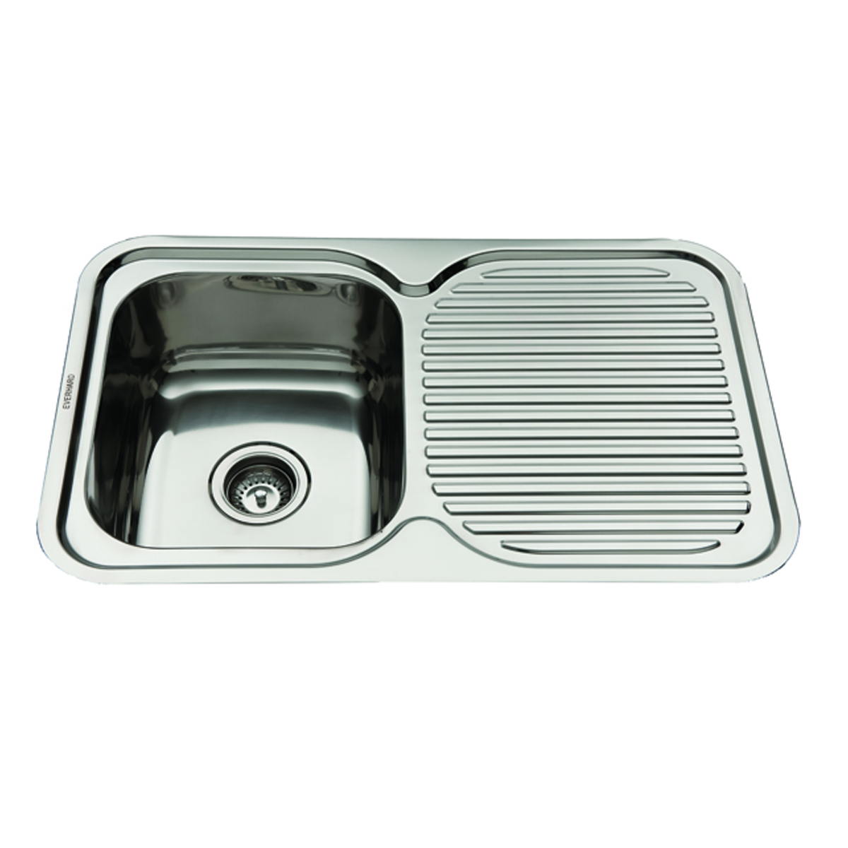 Everhard Nugleam 780mm Single Bowl Flushline Sink