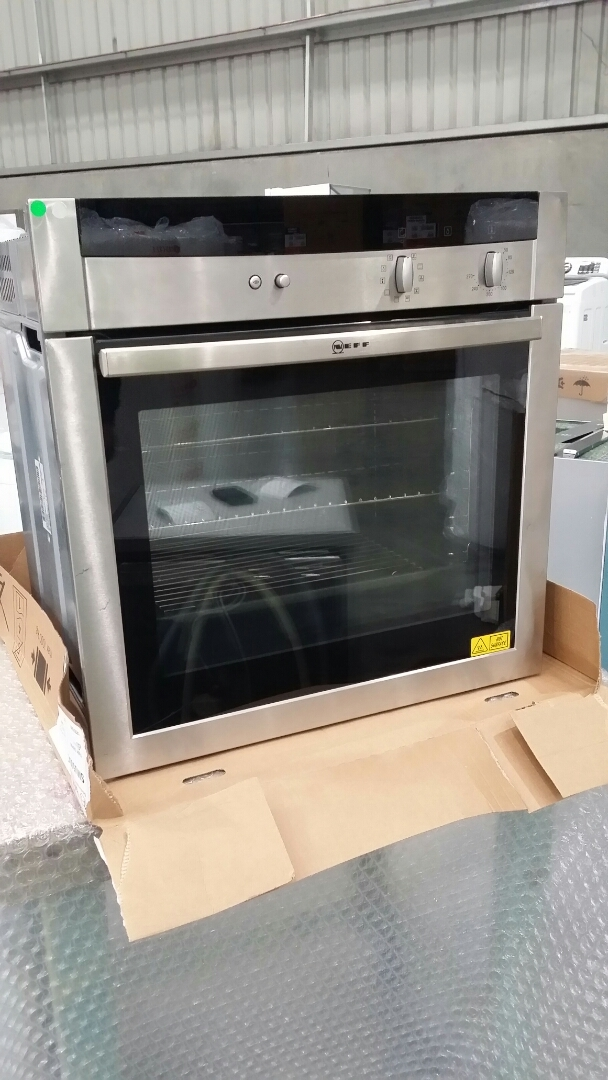 Neff B15M42NOAU 60cm Stainless Steel Oven
