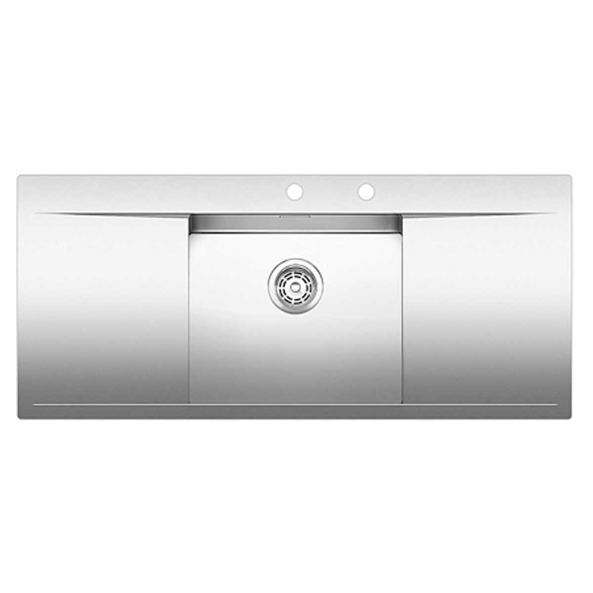 Blanco BFLOW5SIFK5 60cm Cabinet, Single Bowl and Double Drainer Sink ...